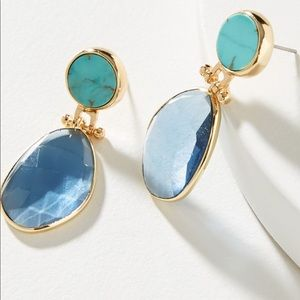 NWT Anthropologie Kyla Drop Earrings